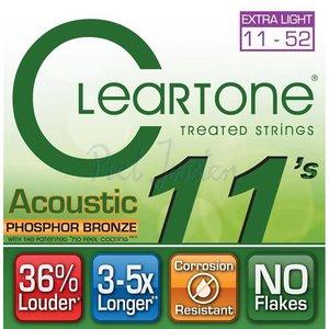 Cleartone 7411 Snaren Phosphor Bronze Extra Light