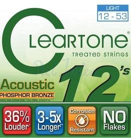 Cleartone 7412 Staalsnarig gitaarsnaren Phosphor Bronze Light