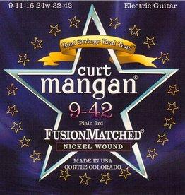 Curt Mangan 10942 Elektrisch gitaarsnaren Nickel 9-42