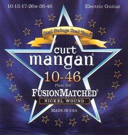Curt Mangan 11046 Elektrisch gitaarsnaren Nickel 10-46