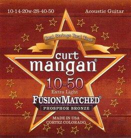 Curt Mangan 31050 Snaren Phosphor Bronze Extra Light