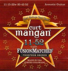 Curt Mangan 31152 Snaren Phosphor Bronze Light