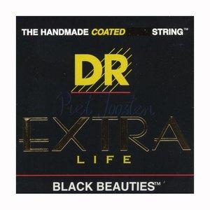 DR Strings BKA-10 Snaren Extra-Life Black Beauties Lite