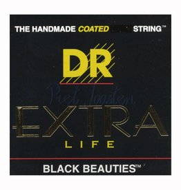 DR Strings BKA-11 Snaren Extra-Life Black Beauties Lite-Medium