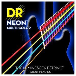 DR Strings NMCB-45 Snaren Neon Multicolor Medium
