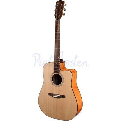 Eastman AC120CE Akoestisch gitaar Dreadnought Natural Satin +Gigbag