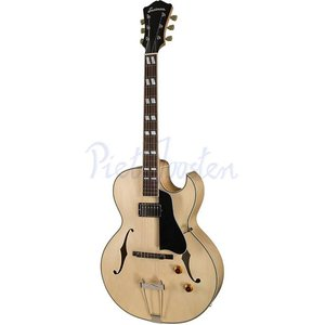 Eastman AR371CE Hollowbody gitaar Blonde