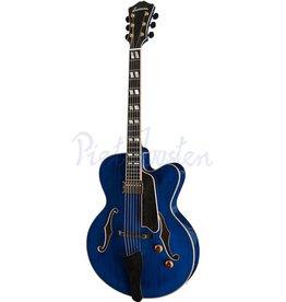 Eastman AR580CE Hollowbody gitaar Blue +Case