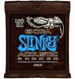 Ernie Ball 2150 Staalsnarig gitaarsnaren Phosphor Bronze Extra Slinky