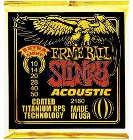 Ernie Ball 2160 Staalsnarig gitaarsnaren Titanium Coated Extra Light