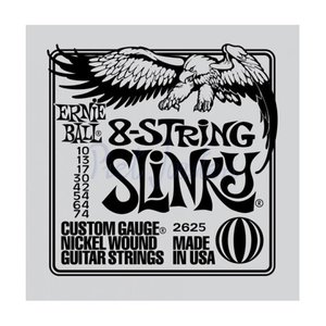 Ernie Ball 2625 Snaren Nickel Wound Slinky 8-String