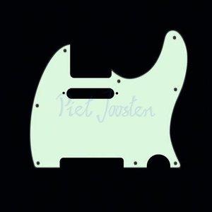 Fender Slagplaat Standard Telecaster Mint