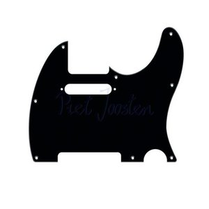Fender Slagplaat New American Telecaster Black