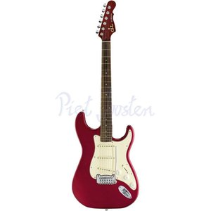 G&L Tribute Legacy Elektrisch gitaar Candy Apple Red