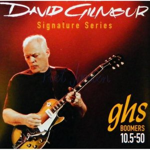 GHS DGG Elektrisch gitaarsnaren David Gilmour Red