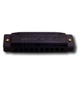 Hering 6020-B Black Blues Mondharmonica