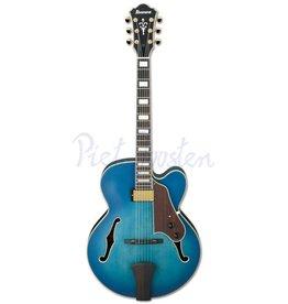 Ibanez AFJ91-JLF Hollowbody gitaar Jet Blue Burst Flat