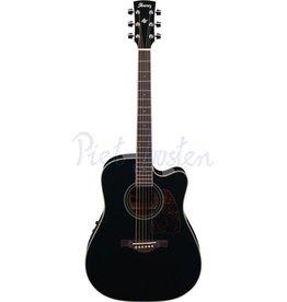 Ibanez AW70ECE-BK Akoestisch gitaar Black