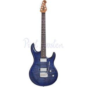 Music Man Luke 3 HH BFR Elektrisch gitaar Blueberry Burst