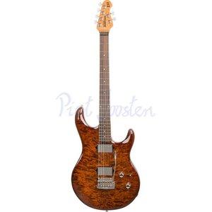 Music Man Luke 3 HH BFR Elektrisch gitaar Hazel Burst