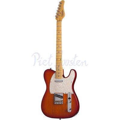 Schecter PT Standard Elektrisch gitaar Aged Cherry Burst