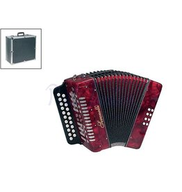 Serenelli Y08CF Accordeon Diatonisch Red