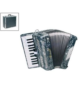 Serenelli Y4826G Accordeon Chromatisch Grey