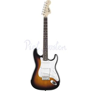 Squier Affinity Stratocaster Elektrisch gitaar Brown Sunburst