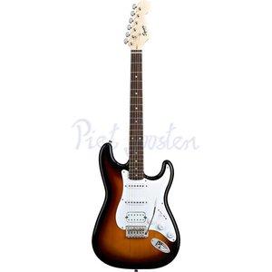 Squier Bullet Strat with Tremolo HSS Elektrisch gitaar Brown Sunburst