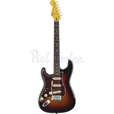 Squier Classic Vibe Stratocaster '60s Elektrisch gitaar Left 3-Color Sunburst