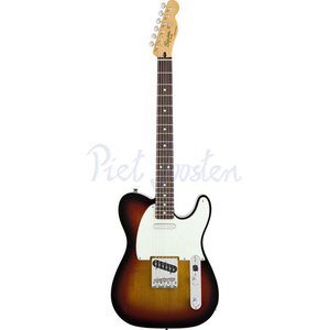 Squier Classic Vibe Telecaster Custom Elektrisch gitaar 3-Color Sunburst