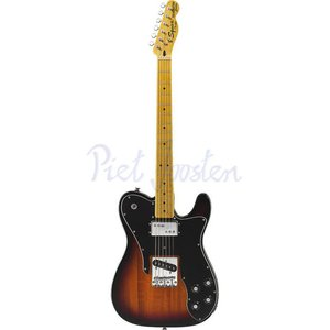 Squier Vintage Modified Telecaster Custom Elektrisch gitaar 3-Color Sunburst