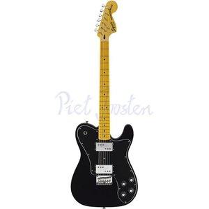 Squier Vintage Modified Telecaster Deluxe Elektrisch gitaar Black