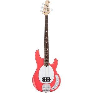 Sterling by Music Man RAY4-FRD Basgitaar Fiesta Red