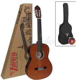 Valencia CG150K Klassiek gitaar Natural Incl. Hoes & DVD