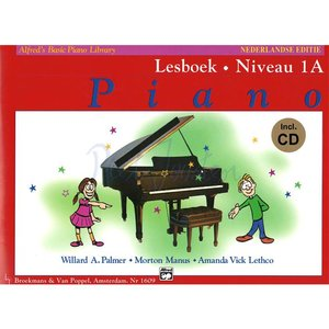 ALFRED'S BASIC PIANO LIBRARY LESBOEK 1A +CD