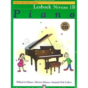 ALFRED'S BASIC PIANO LIBRARY LESBOEK 1B +CD