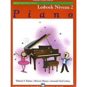 ALFRED'S BASIC PIANO LIBRARY LESBOEK 2