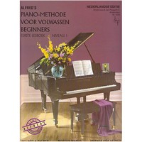 ALFRED'S PIANO METHODE VOLWASSEN BEGINNERS 1 +CD