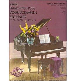 ALFRED'S PIANO METHODE VOLWASSEN BEGINNERS 1 +CD