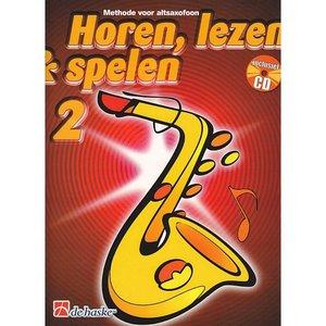 HOREN LEZEN & SPELEN 2 METHODE ALTSAX
