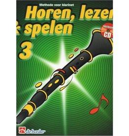 HOREN LEZEN & SPELEN 3 METHODE KLARINET
