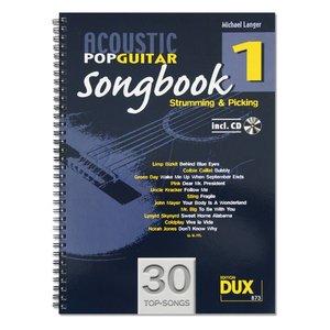 ACOUSTIC POP GUITAR SONGBOOK 1 +CD