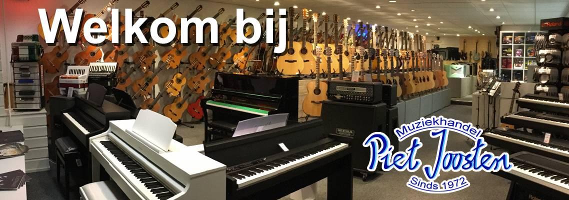 Welkom bij Muziekhandel Piet Joosten