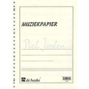 MUZIEKPAPIER MULTOMAP A4 23-RINGEN