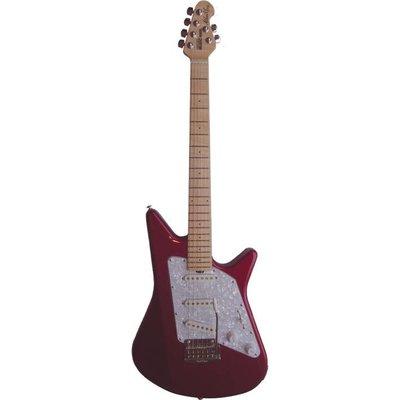 Music Man Albert Lee Elektrische gitaar Tremolo Candy Red +Case