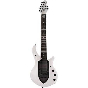 Music Man Majesty 7-String Elektrische gitaar Glacial Frost