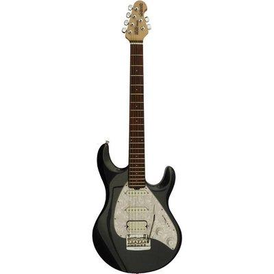 Music Man Music Man Silhouette Special Elektrische gitaar Sapphire Black +Case