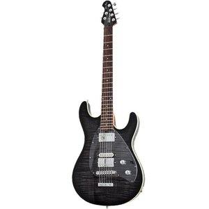 Music Man Steve Morse Darklord Elektrische gitaar Trans Black Burst