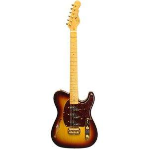 G&L ASAT Z-3 Semi Hollow Elektrisch gitaar Tobacco Sunburst
